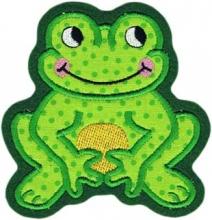 Applikation Aufnäher lachender Frosch 2