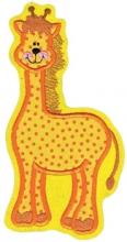 Applikation / Aufnäher  XXl Giraffe