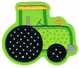 Applikation / Aufnäher Motiv Traktor