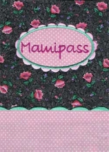 Mutterpasshülle mit Stickerei Mamipass