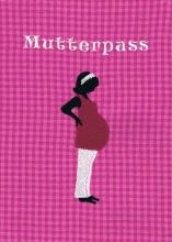 Mutterpasshülle in pink/kariert