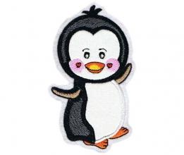 Applikation / Aufnäher Pinguin 1