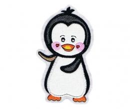 Applikation / Aufnäher Pinguin 4
