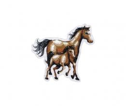 Applikation Pony Pferd in 2 Größen