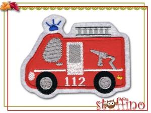 Applikation / Aufnäher  Feuerwehrauto