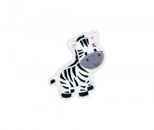 Applikation / Aufnäher Zebra