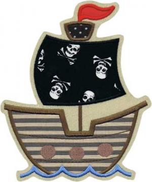 Applikation XXL Piratenschiff